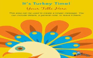 Thanksgiving Cards it's turkey time Marcia Copeland