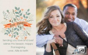 Thanksgiving Cards Two Branching Out